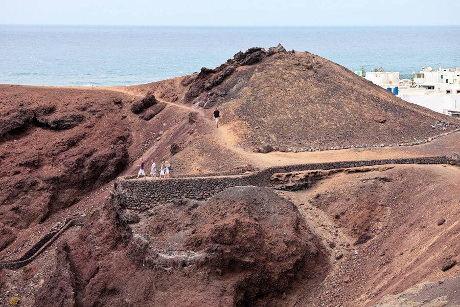 Visitar El Golfo en Lanzarote