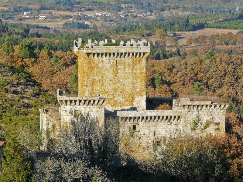 Castelo de Pambre en Palas de Rei