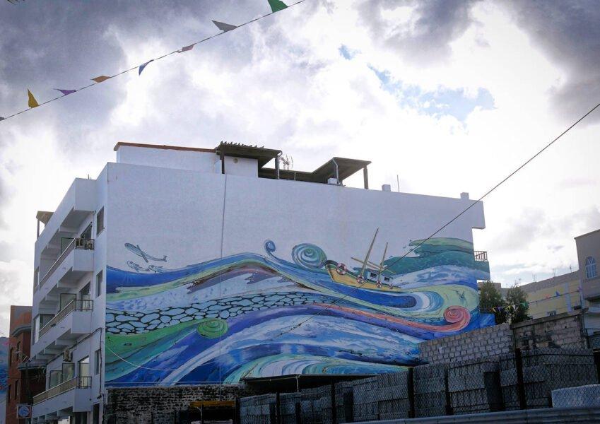 Obras callejeras en Gran Tarajal