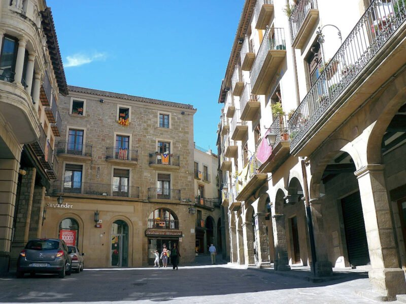 Plaza Mayor de Solsona