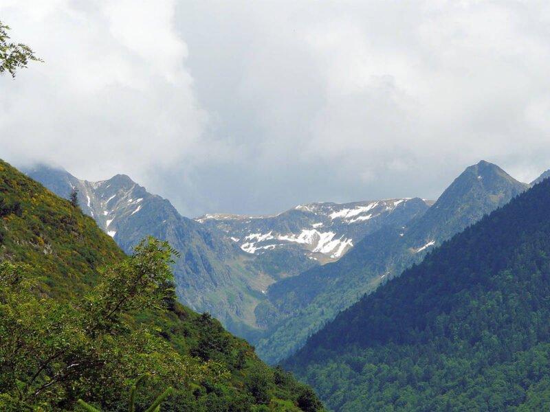 Vista hacia los Pirineos