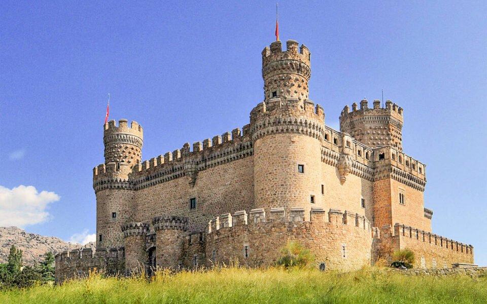 Castillo en Manzanares el Real