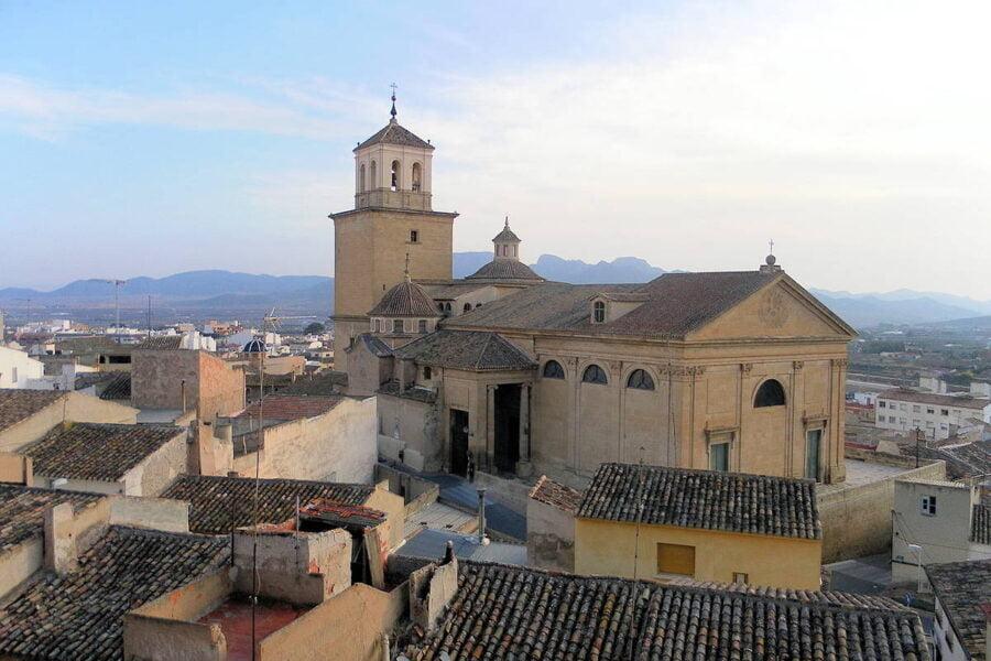 Iglesia de Santiago Apóstol en Jumilla