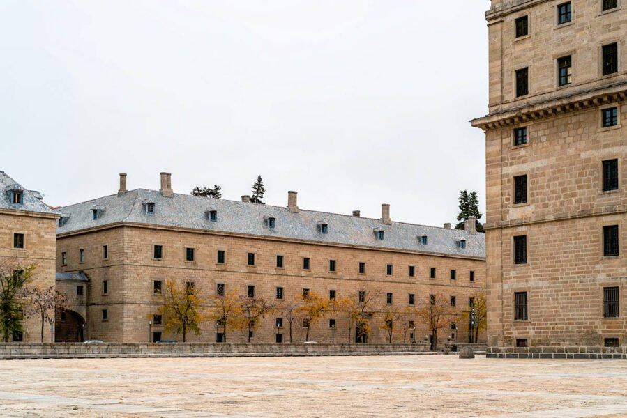 Interior Monasterio de San Lorenzo el Escorial