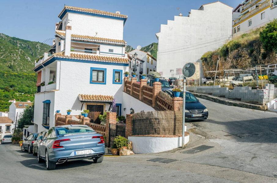 Ojén pueblo de Málaga