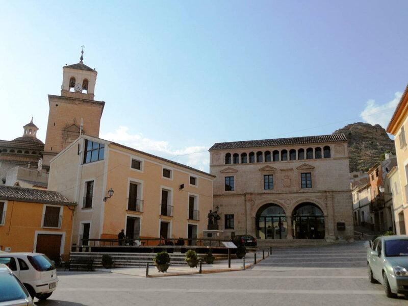 Plaza de Arriba en Jumilla