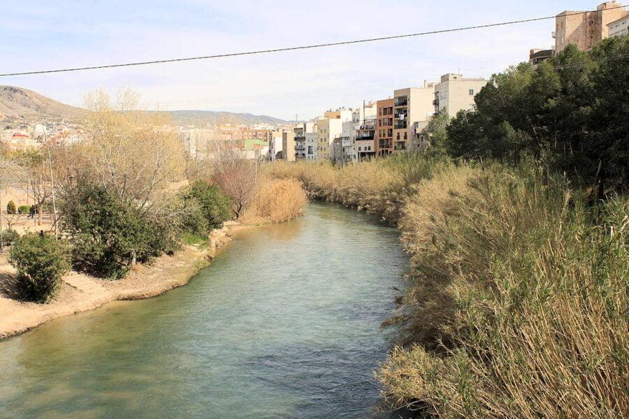 Río Segura en Cieza