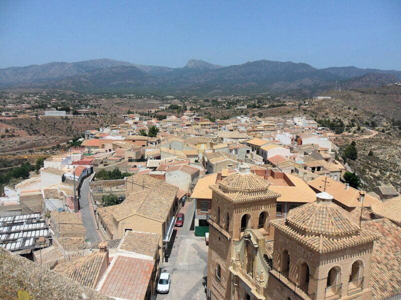 Visita Aledo en Murcia