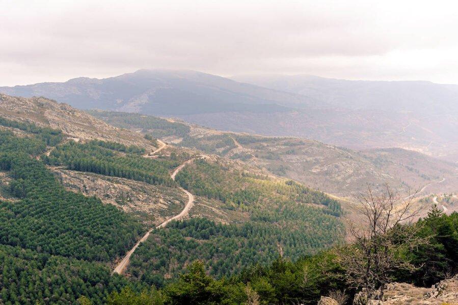 Vistas de Puebla de la Sierra