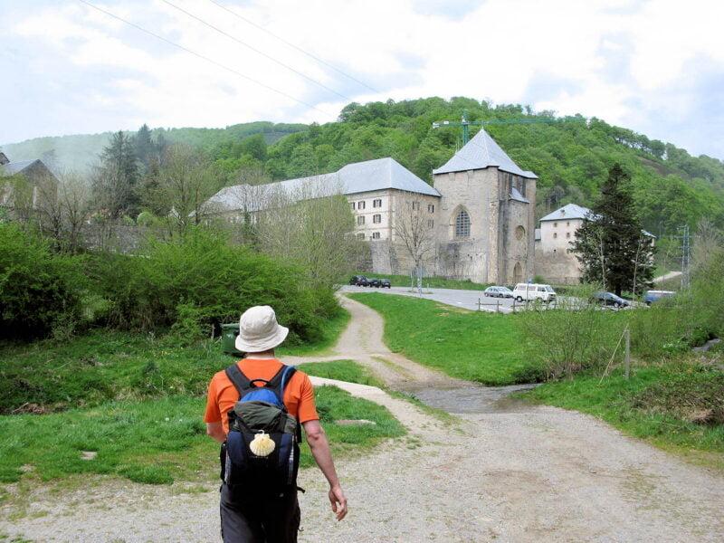 Camino de Santiago en Roncesvalles