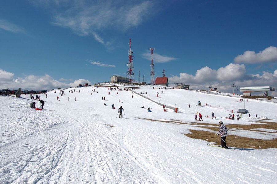 Estación de esquí en Manzaneda