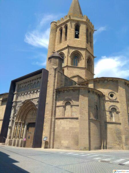 Iglesia de Santa María La Real en Sangüesa