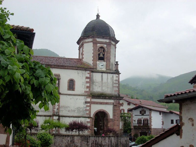 Iglesia de la Asunción en Zugarramurdi
