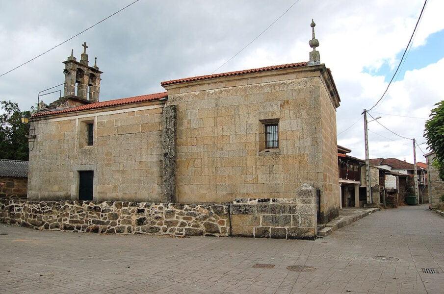Iglesia parroquial de Santa Cristina de Tintores