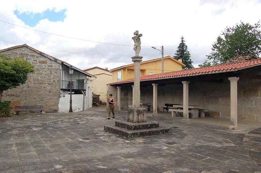Plaza en Verín