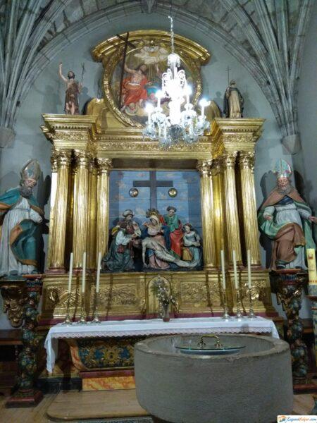 Retablo de la Iglesia Santa María La Real